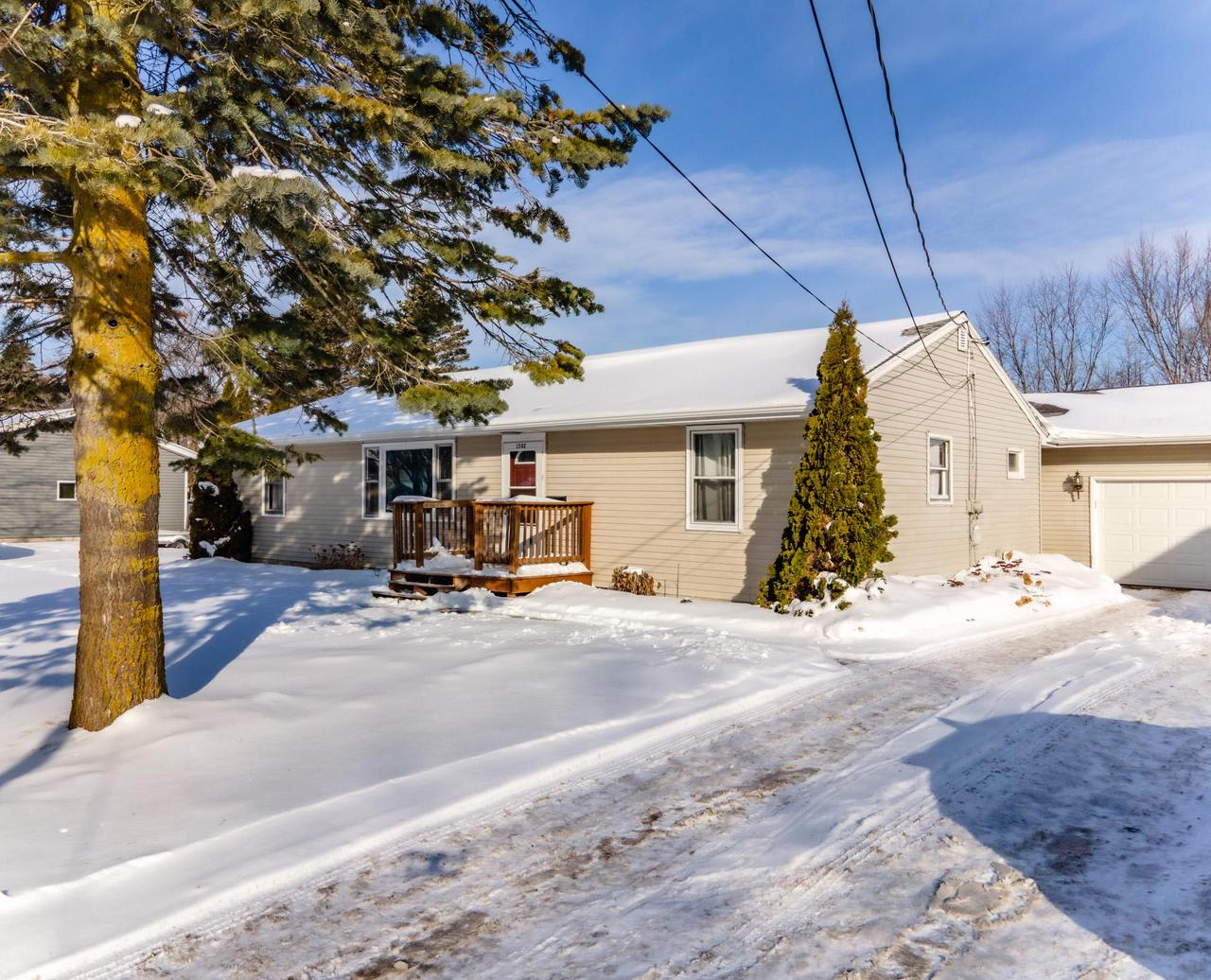 View Single-Family Home For Sale at 1302 Wisconsin Ave, New Holstein, WI