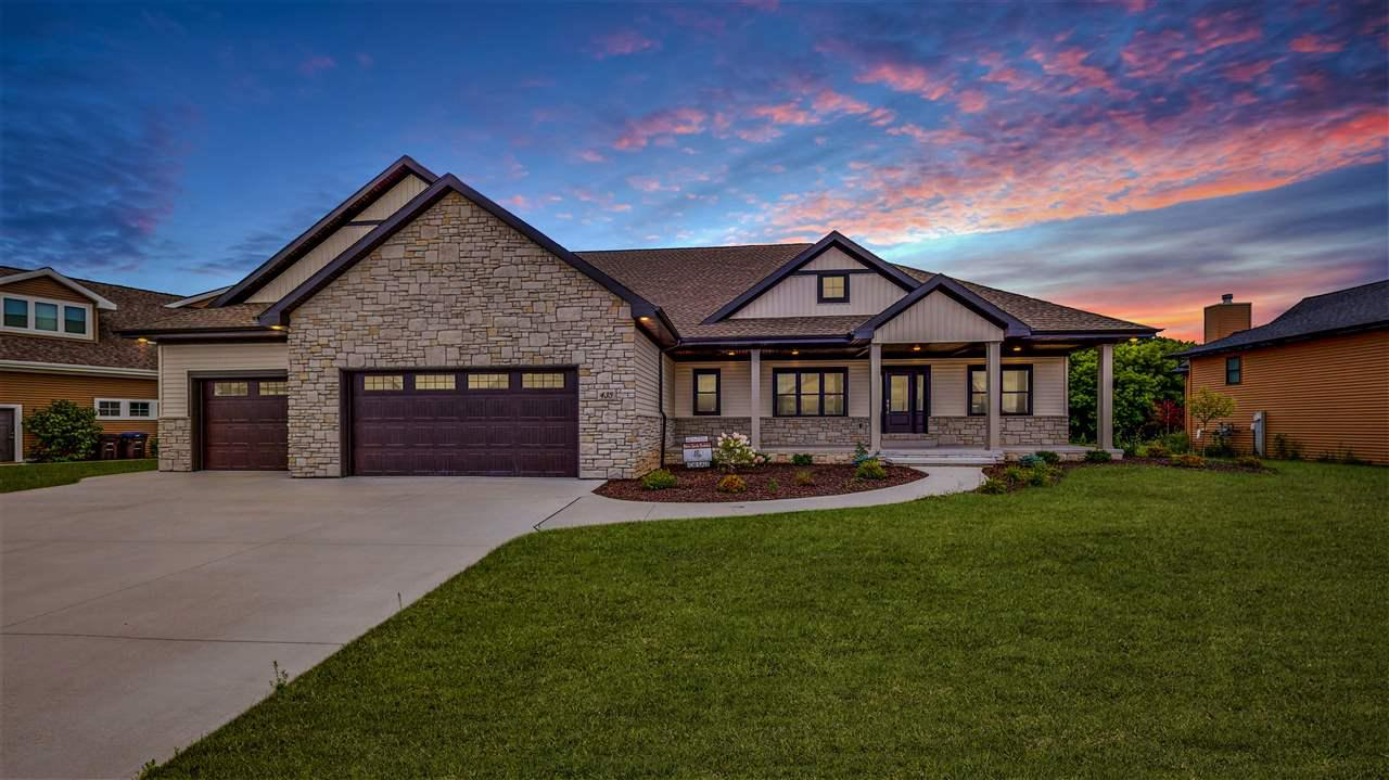View Single-Family Home For Sale at 435 WOODFIELD PRAIRIE WAY, Hobart, WI