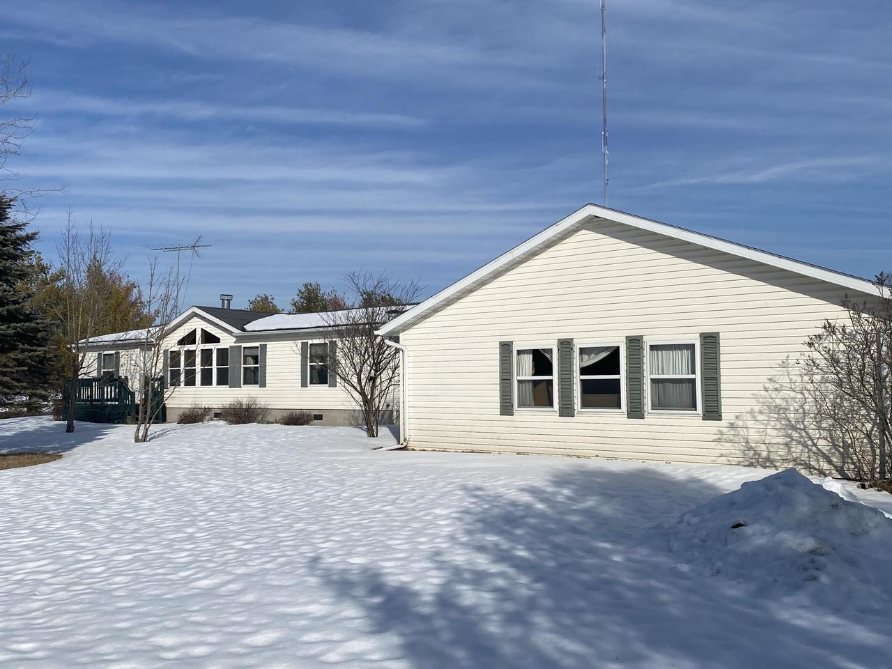 View Single-Family Home For Sale at N2150 Keller Road, Marinette, WI