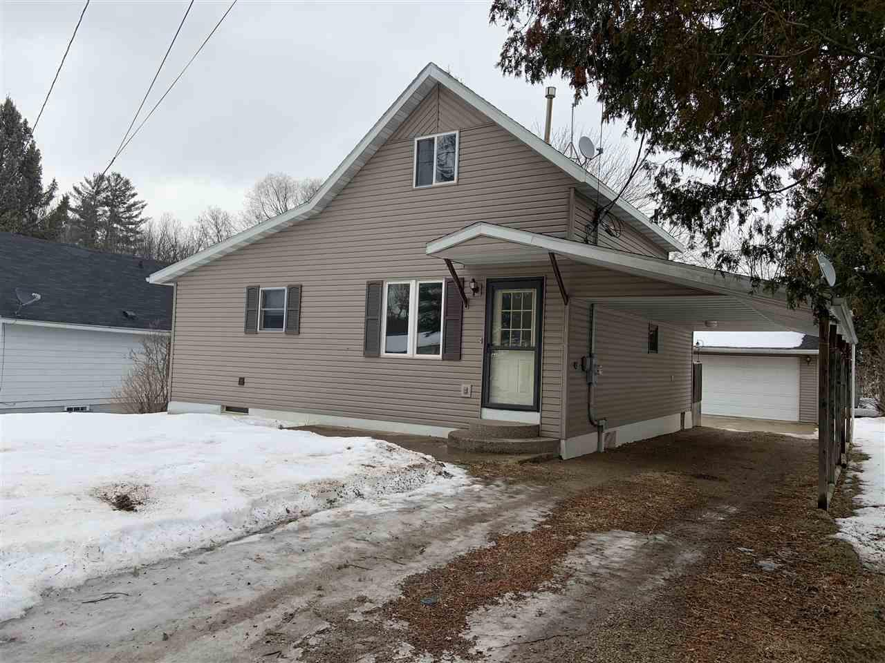 View Single-Family Home For Sale at 110 N ZIPPEL AVENUE, Gillett, WI