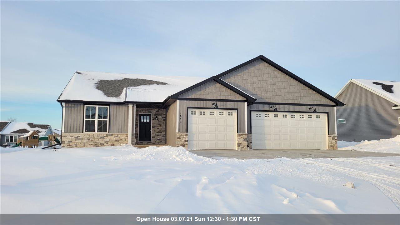 View Single-Family Home For Sale at 1850 RED FOX LANE, Kaukauna, WI