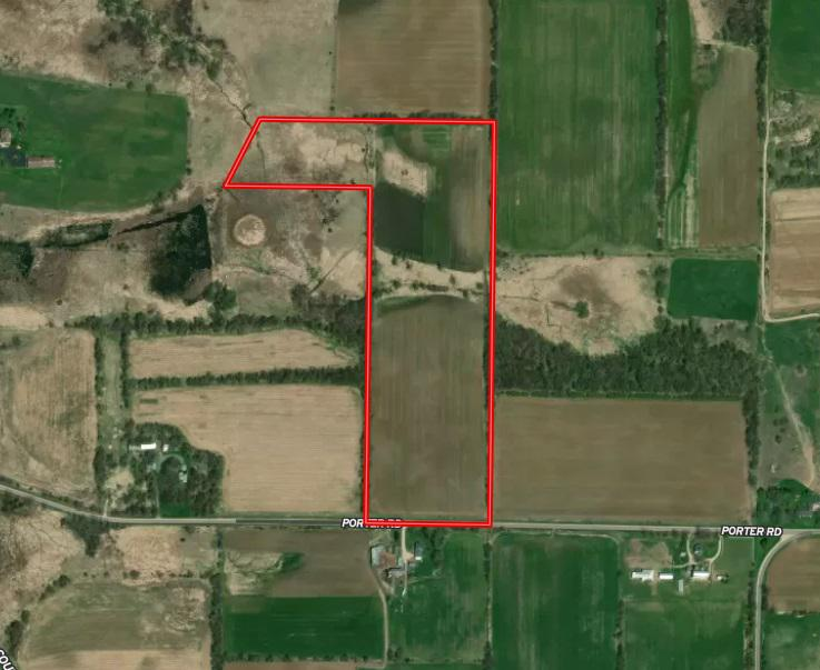 View Vacant Land For Sale at 32+/- Acres Porter Rd, Ripon, WI