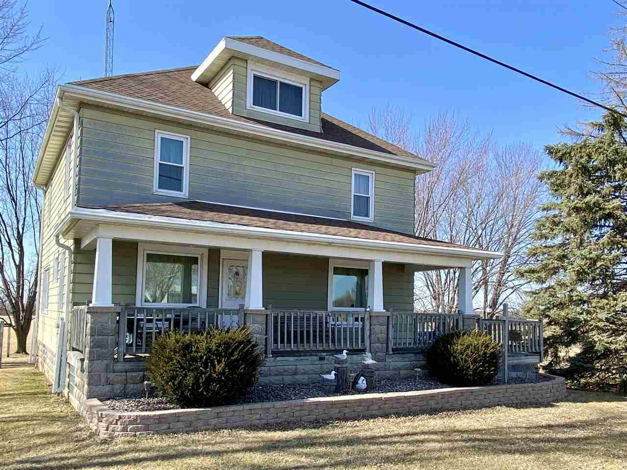 View Single-Family Home For Sale at N10760 HWY 151, Malone, WI