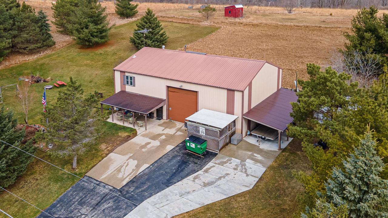 View Single-Family Home For Sale at W7222 Cherry Hill Dr, Adell, WI