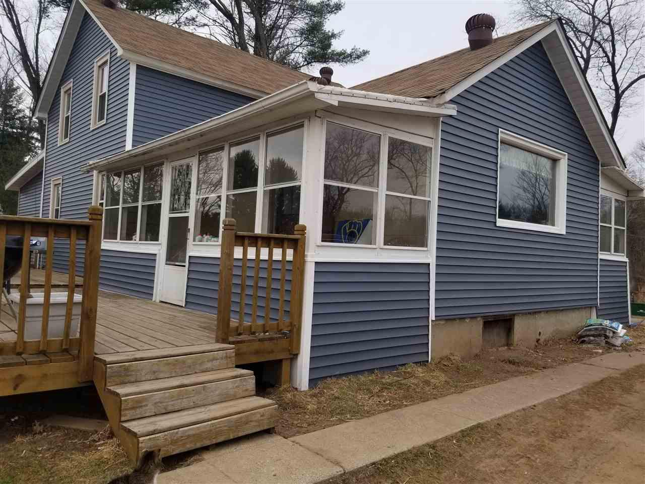 View Single-Family Home For Sale at W3865 Hwy 23, Montello, WI