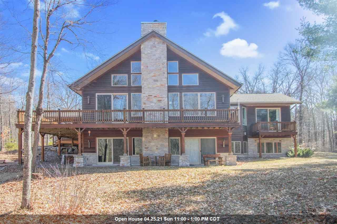 View Single-Family Home For Sale at N8781 JOHNSON FALLS COURT, Crivitz, WI