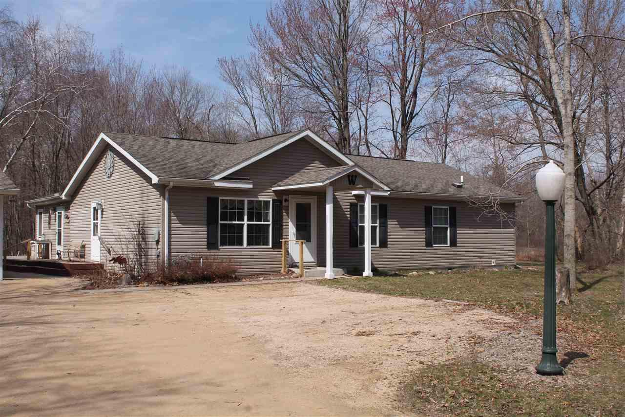 View Single-Family Home For Sale at N3393 County Road M, Montello, WI