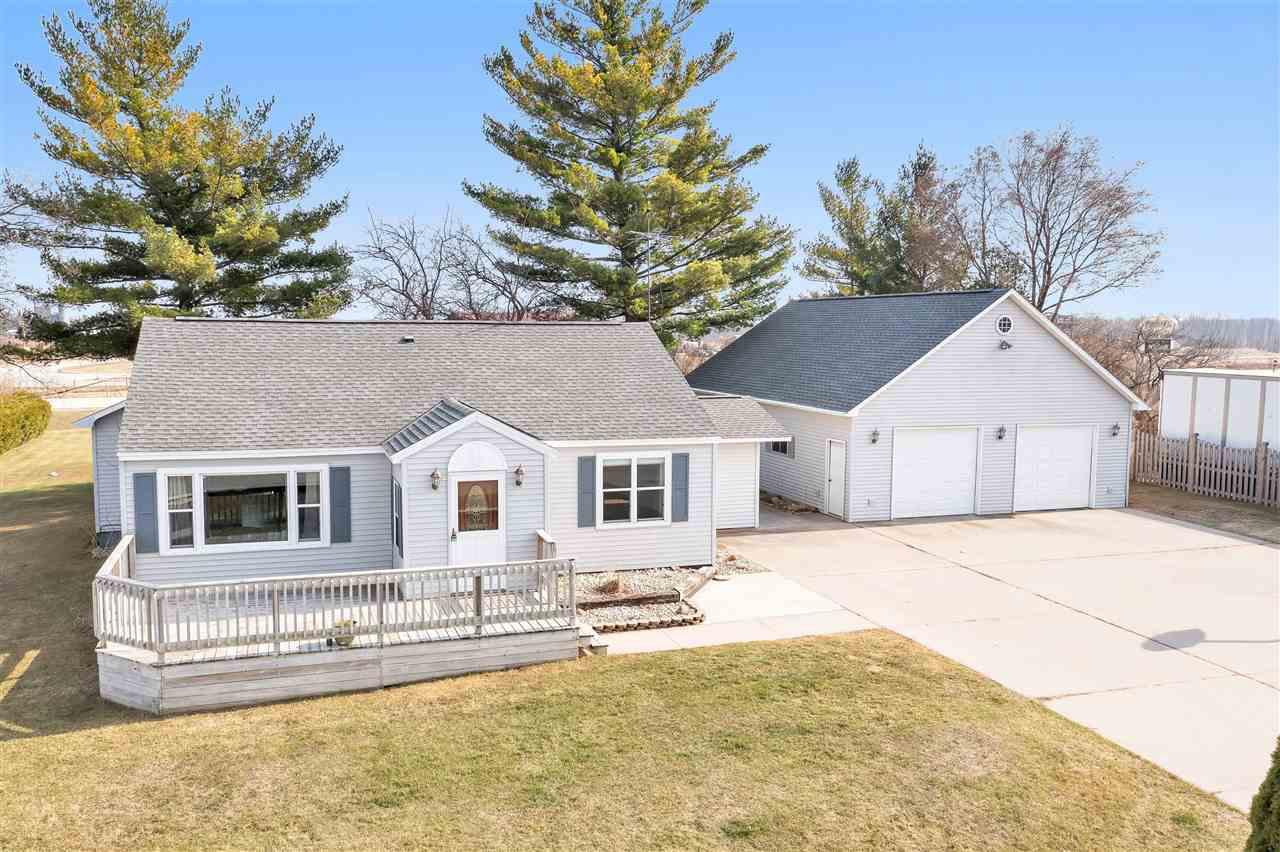 View Single-Family Home For Sale at W4331 STIBBE LANE, Peshtigo, WI