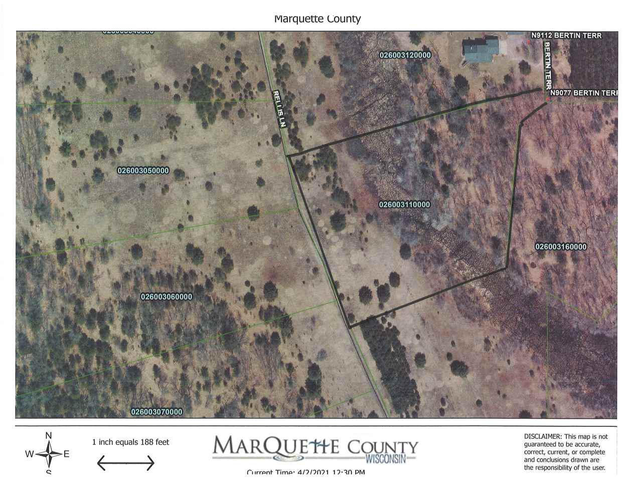 View Vacant Land For Sale at Lot 10 Bertin Terr, Westfield, WI