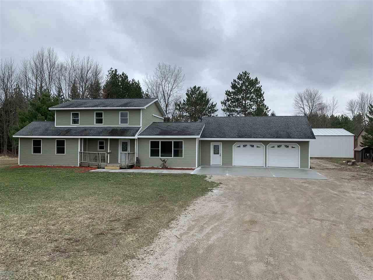View Single-Family Home For Sale at 3631 HWY SS, Oconto, WI