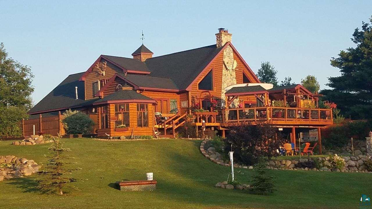 View Single-Family Home For Sale at 11911 E Rowe Rd, Lake Nebagamon, WI