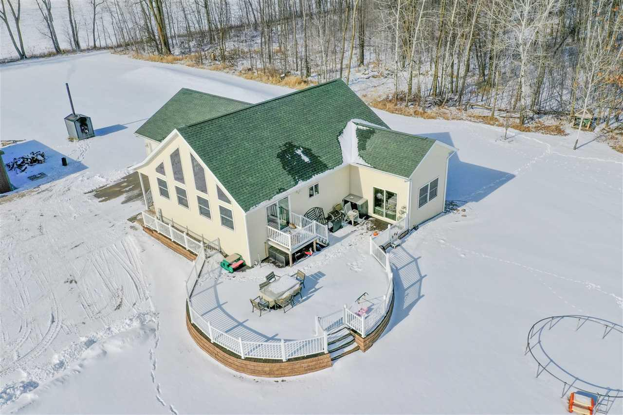 View Single-Family Home For Sale at W6302 DEERVIEW ROAD, Black Creek, WI