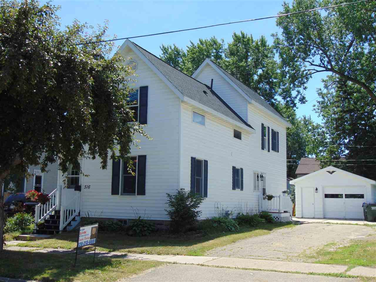 View Single-Family Home For Sale at 516 E WASHINGTON STREET, New London, WI