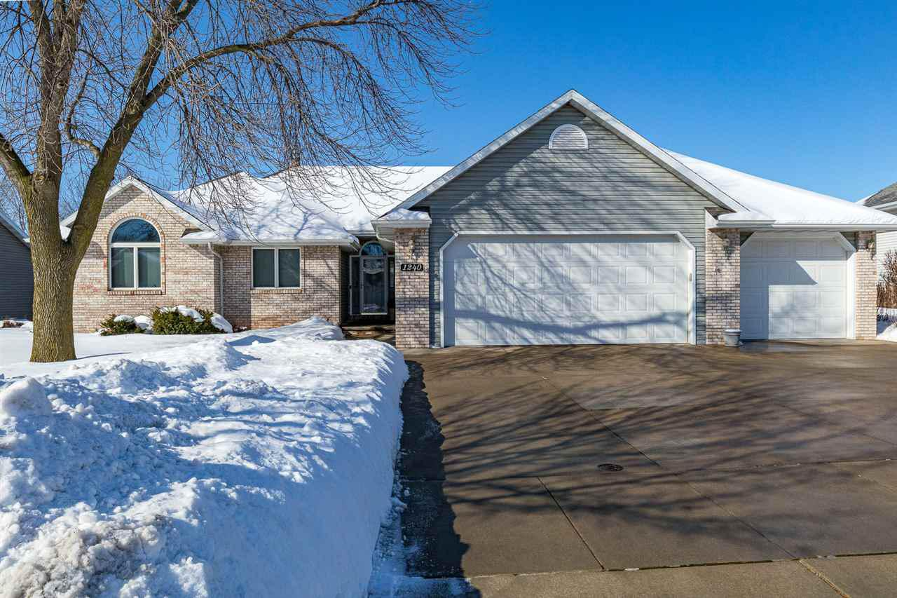 View Single-Family Home For Sale at 1240 DEER HAVEN DRIVE, Menasha, WI