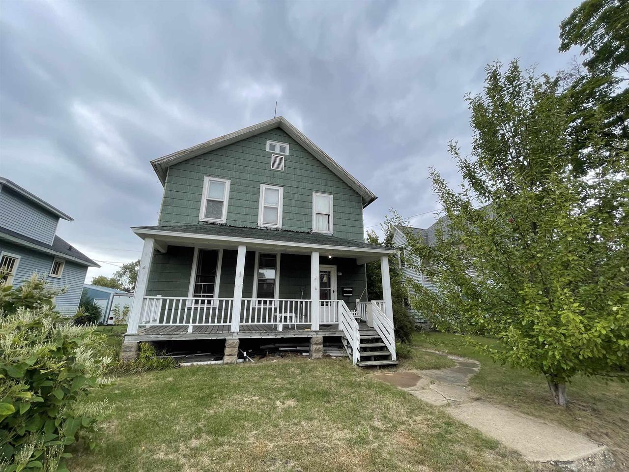 View Single-Family Home For Sale at 604 9TH AVENUE, Menominee, MI