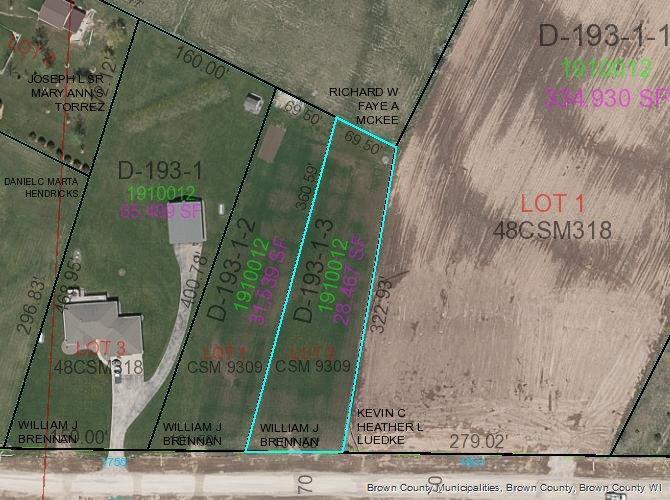 View Vacant Land For Sale at DALLAS LANE, De Pere, WI