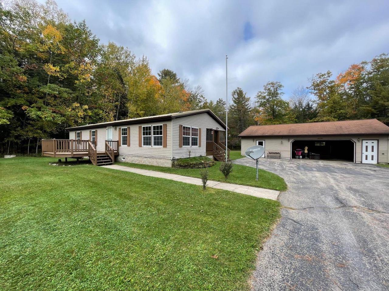 View Single-Family Home For Sale at N2342 KUTZ ROAD, Marinette, WI