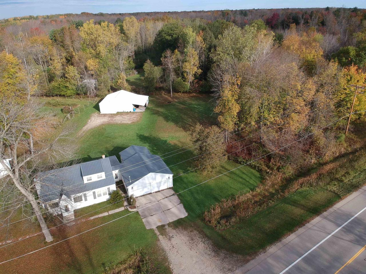 View Single-Family Home For Sale at N1061 M-35, Menominee, MI