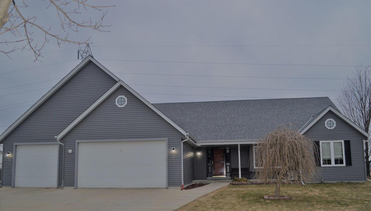 Beautiful move in ready open concept split ranch. This quality built 2 by 6 construction home features: 3 large bedrooms, 2 full bathroom, 1st floor laundry, and heated finished 4 car attached garage. The private back yard allows you to ENJOY the country views while living in the village of Saukville. Schedule your showing today!