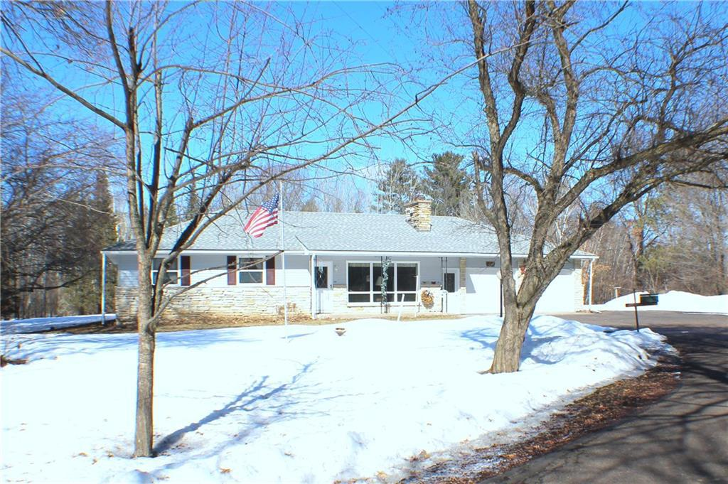 Private setting, Home on 10 acres, many updates to include: vinyl siding, roof, gutters, furnace, A/C in 2019. New flooring laminate, carpet, and painted. Ready for your family.