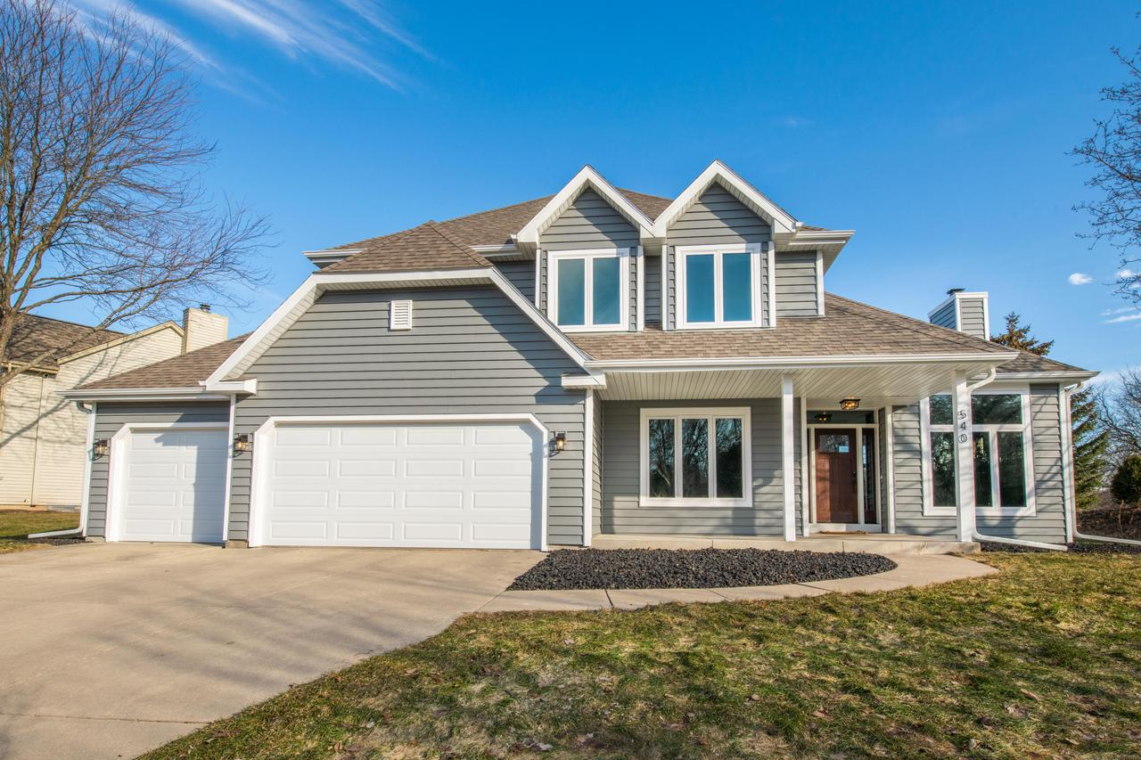 ''Turn-Key'' is an understatement in this stunning home in the highly desirable Arrowhead school district w/deep 3.5 garage! Inside you'll find a contemporary yet elegant style, showcased by a partial open concept with beautifully bright LR, large picture windows and gorgeous new gas FP w/custom floor-to-ceiling stone surround. FF office, master ensuite w/ vaulted ceilings, WIC's and partially finished LL check all the boxes! Thoughtful updates and quality finishes fill every corner of this home. Many updates including new high-end windows, siding, doors, HVAC, patio, roof & more. This rare find is tucked away across the street from Bark river/Hartbrook Park. Plus, a short walk to Centennial Park, downtown Hartland and schools! Be the lucky buyers to call this spectacular home yours!