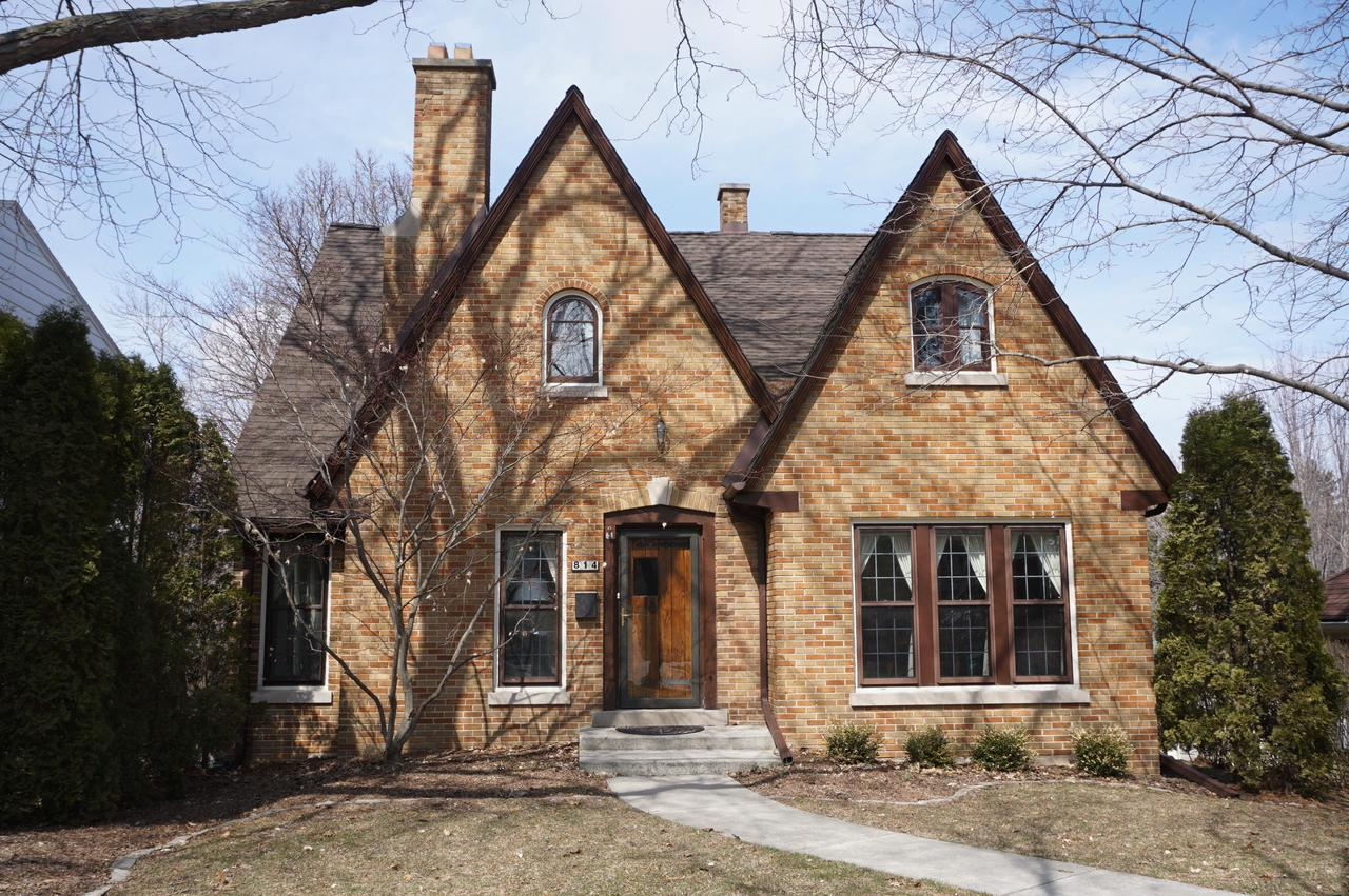 You will feel at home as you enter this charming  4br/2full bathroom all brick Tudor Style gem loaded with yesterdays character and today's amenities. New tear off Roof/2010,New Furnace/2010,New Hot Water heater/2015, New Garage Door. You will be in awe  by the beautiful Original and Natural woodwork, leaded glass doors, Hardwood Floors, crown moldings and gorgeous built-ins throughout. Great Room boasts Natural Fireplace, Formal Dining Room offers 2 corner built-in China Cabinets. Kitchen with Silestone top countertop & appliances. Unique Butlers Pantry w/great wood details. 4 nice size bedrooms, computer room/den  on upper, Cozy Composite Lumber Balcony on upper. lots of closet & storage space.  Super Location! Pride of Ownership shines throughout!