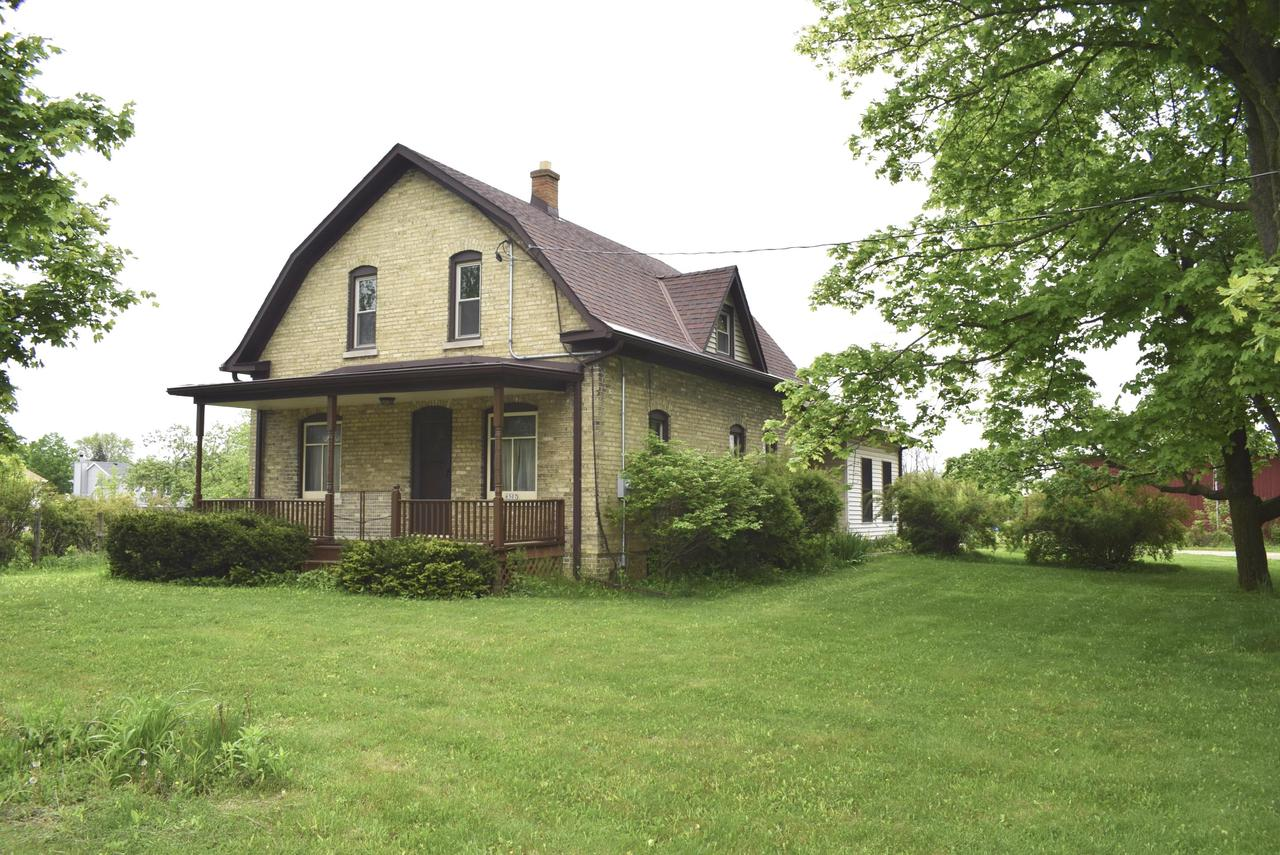 5 acres with charming 1913 Cream City brick farmhouse, 1913 barn, & 1975 52'x30' pole bldg/garage with electric. Property consists Lots 1 & 2 (total of 4.13 ac) zoned Agricultural. Lot 3 (.93 acre) has the house & outbuildings zoned Residential. Hi-eff gas furnace 2019; new well for for farmhouse in '88;  C/A plus 1 window a/c for 1st flr FamRm; most windows replaced. Taxes in MLS are for all 3 parcels; see ''Other'' in MLS Docs. Septic has failed, but seller will credit buyer $50,000 to have sewer line brought from Stephan Rd to property line, a lateral from there into the house, and existing septic tank removed. Proposals for work on file and available. See Seller Updates in MLS Doc for property history & much more information.  Cash or conv'l financing. Sold as-is.