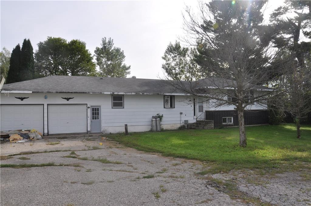 Secluded, 4 Bedroom, 2 bath Hobby Farm in situated on 6 acres just outside of Taylor WI. Home features large living /family rooms, large kitchen and dining area, main floor laundry, 2 car attached garage. Additionally there are 2 large machine sheds (100x45 and 40x36) with concrete, large barn with room for few horses or cows. With some TLC and updates, this home could be a great place to raise a family.