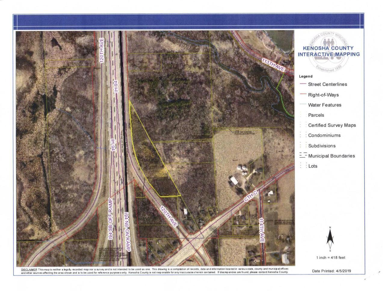 5.89 acres 120th Ave AVENUE, PLEASANT PRAIRIE, WI 53158