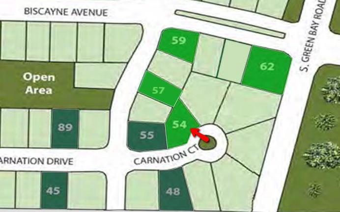 Lt54 Carnation Ct COURT, MOUNT PLEASANT, WI 53406