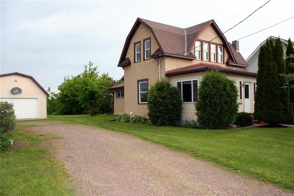 This 3 bedroom, 2 bath home will surprise you with character, charm and wonderful, waterfront backyard.  The house is located on the Ladysmith Flowage where you can fish, ski and just enjoy anything you like to do on water. Home is clean and comfortable with a fun, 3 season front porch.  This is a real value.