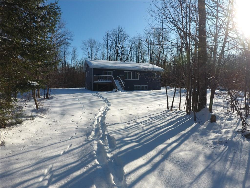 Newer home/cabin on 30 acres located in Loretta WI. Make this your home or make this a fantastic hunting cabin! Beautiful 30 acre property to make your own. Tremendous ATV and snowmobile trails right from the property! Come make some memories here!! Old Garage foundation in place and ready to build.