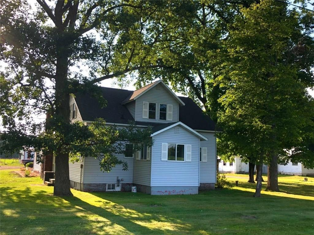 Charming Hobby Farm with 870? of frontage on Stump Lake & boating access to Rice Lake. Room for the family & all your pets, in this 3-bdrm home on 11.76 acres. Open concept first floor with large kitchen, wood stove, large mud room. Plenty of outbuildings: Pole Sheds, Workshop, heated Man-Cave, and more. Enjoy summer evenings sunsets from large patio, with raised flower beds. Fenced pastures, horse stalls, chicken coop, large garden gives you everything you need. Located just minutes from town.