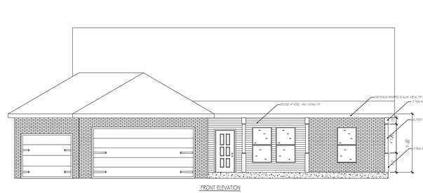 Estimated completion date 3/1/2021 Beautiful open concept 1784sqft ranch