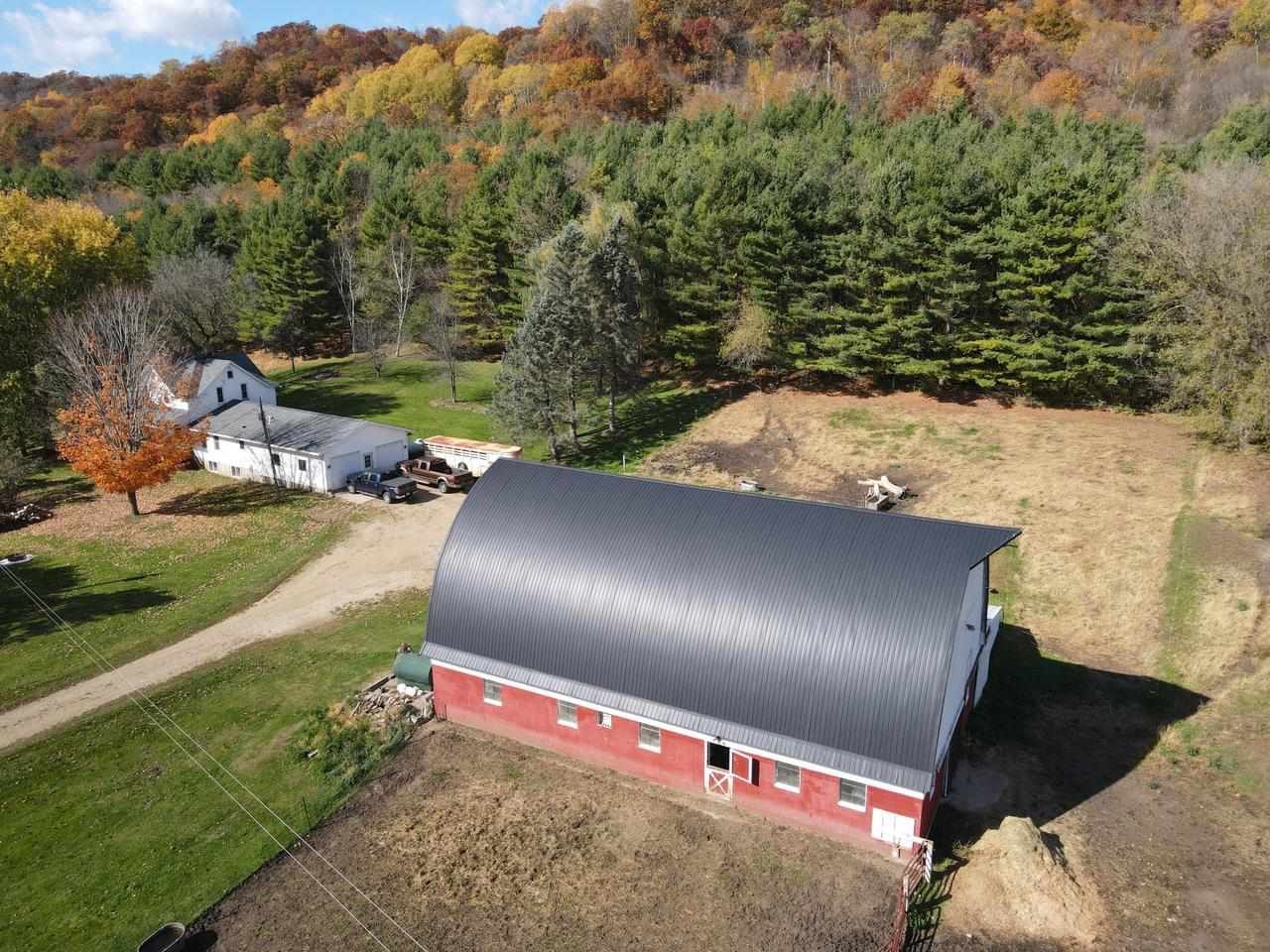 Looking for a hobby farm with a Prime location in a great valley setting? This could be the one and it is right in the heart of Buffalo Cty Big Buck Country and features a 5+ bdrm home with a round roof barn along with15 acres of woods & pasture. The spring feed creek running through the property makes it the ideal setup for horses or cattle. Some updates within the last 4 years include; Home Reinsulated, Furnace and C/A, Water Heater, Bathroom Fixtures, Barn Roof and more! Check it out today.