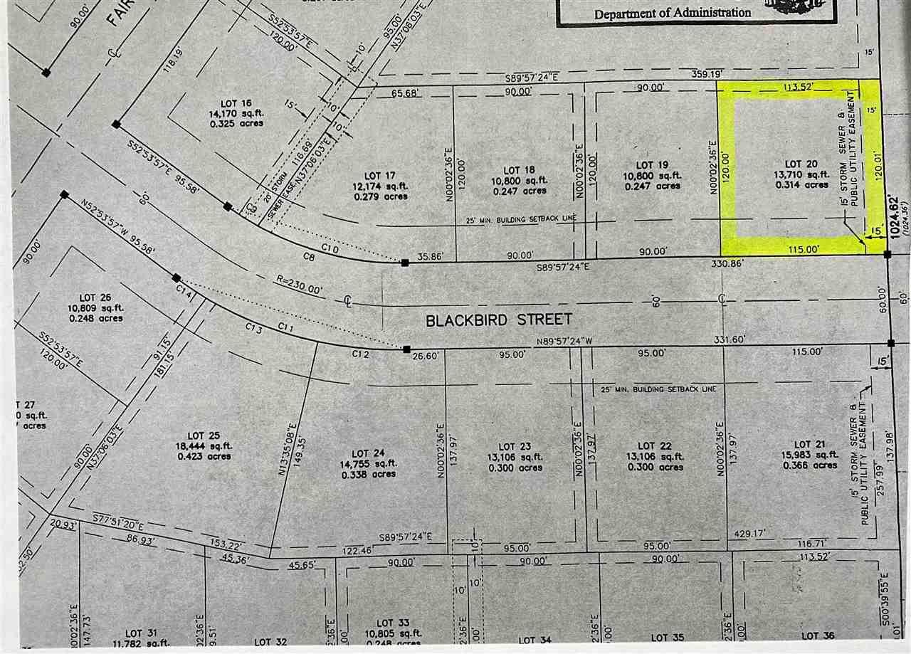 310 BLACKBIRD STREET STREET, NORTH FOND DU LAC, WI 54937