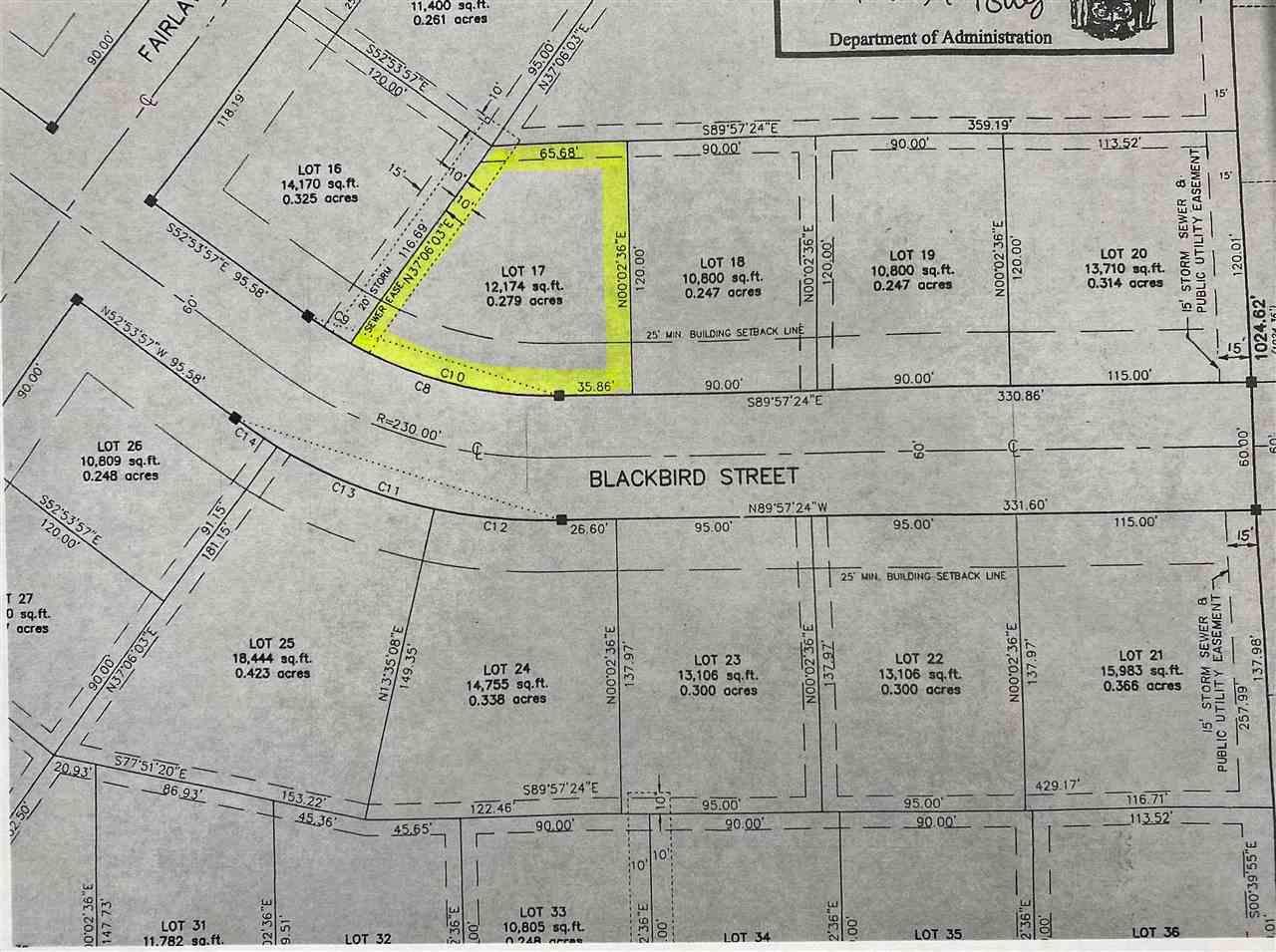 334 BLACKBIRD STREET STREET, NORTH FOND DU LAC, WI 54937