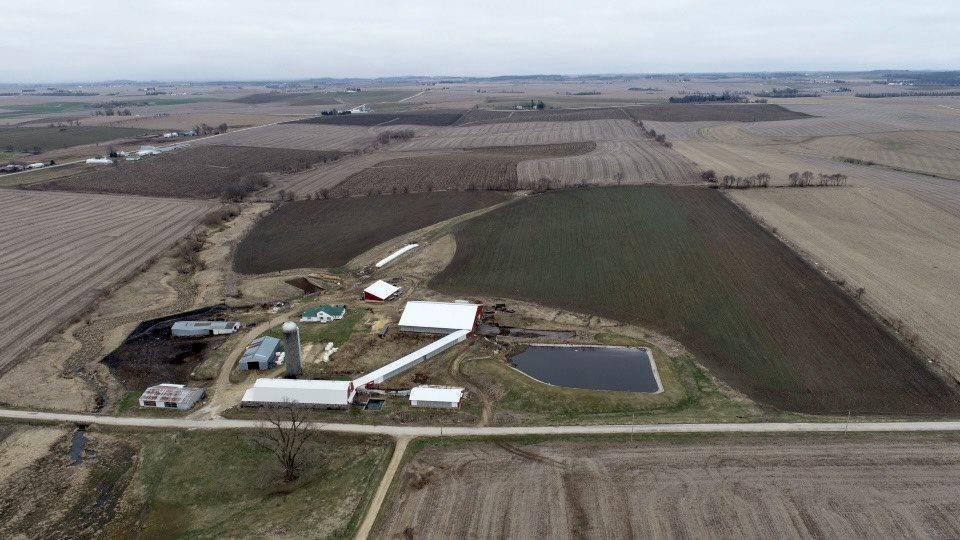 Turnkey Grade A Dairy farm available in Lafayette County, Wisconsin! The property consists of 47 gross acres m/l with approximately 30.24 FSA cropland acres. The primary soil types include Tama and Ashdale silt loam. The farm features a 66-cow stanchion barn, 150 cow free stall, commodity shed, multiple cattle sheds, and a one-million-gallon lagoon.  The four-bedroom 1 bath 2,500 m/l square foot, ranch home has multiple updates including a new furnace in November and new septic in 2017.
